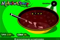 Click to play Alphabet Soup